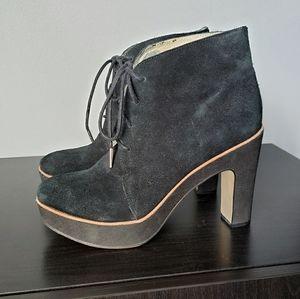 Michael Kors | Heeled Boot, Black Suede